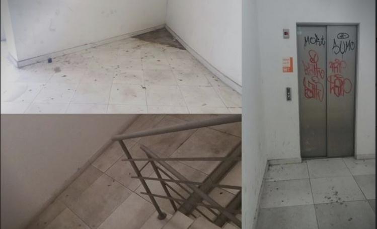 И покрај апелите од граѓаните, лифтовите во најфрекфентната катна гаража во центарот на Скопје не се во функција (ФОТО)