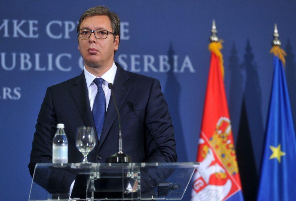 Тајно пришлушувани српскиот претседател Вучиќ и неговата фамилија