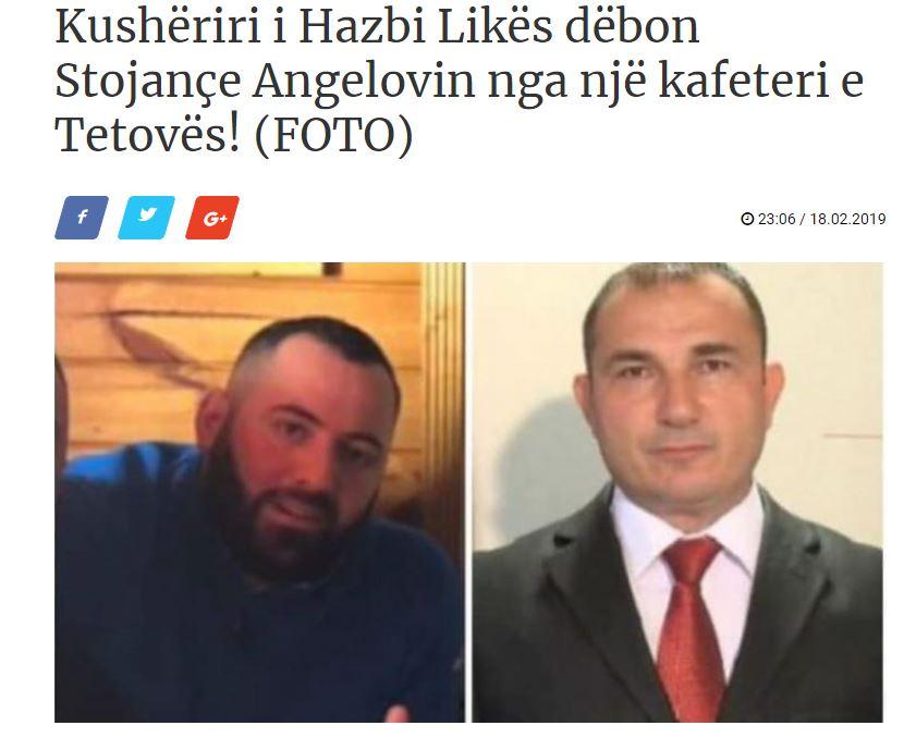 Братучедот на Хазби Лика, го избркал Стојанче Ангелов од кафетерија во Тетово!