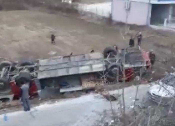 Остатоците од автобусот ќе се вештачат во касарната Ѓорче Петров