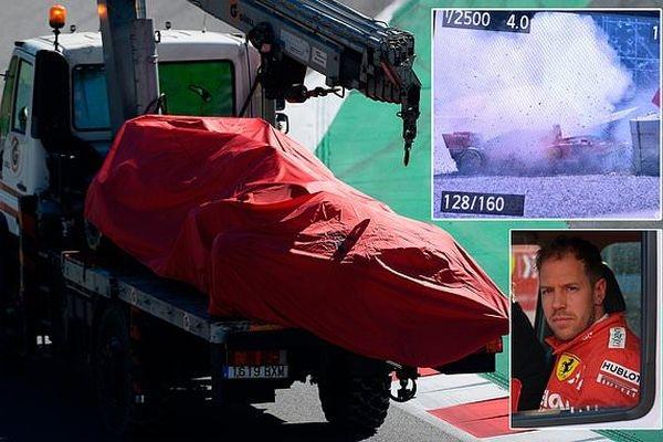 ВИДЕО: Инцидент во Формула 1, Фетел во болница