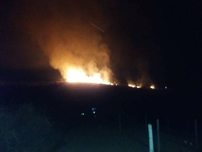 Голем пожар на Љубаш во Кавадарци