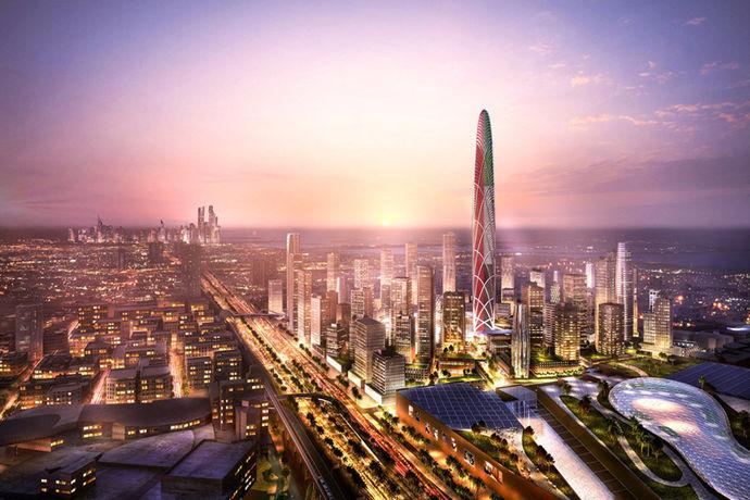 Дубаи ќе добие нов облакодер, Бурџ Џумеира