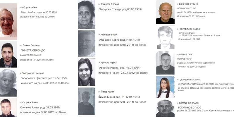 ГРАЃАНИТЕ ВО ПАНИКА: Во Македонија во моментов има исчезнати 64 лица