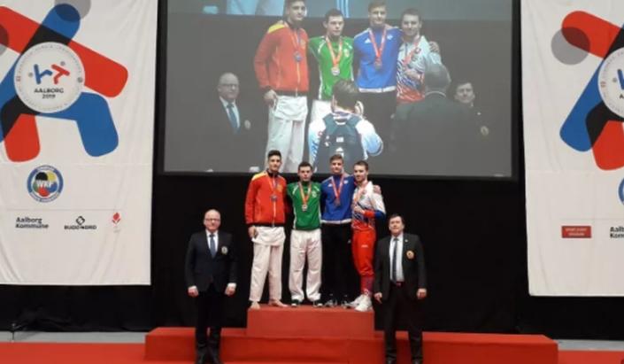 Добивме шампиони: Младите каратисти освоија два златни и два сребрени медали за Македонија