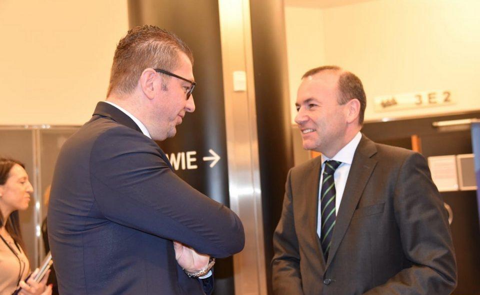 Мицкоски во Брисел оствари средби со Мекалистер, Вајгл и Вебер: Заев сака да ги украде претстојните претседателски избори