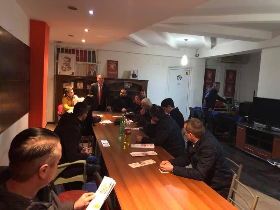 Двајца потенцијални кандидати од ВМРО-ДПМНЕ го посетија ОК Кисела Вода