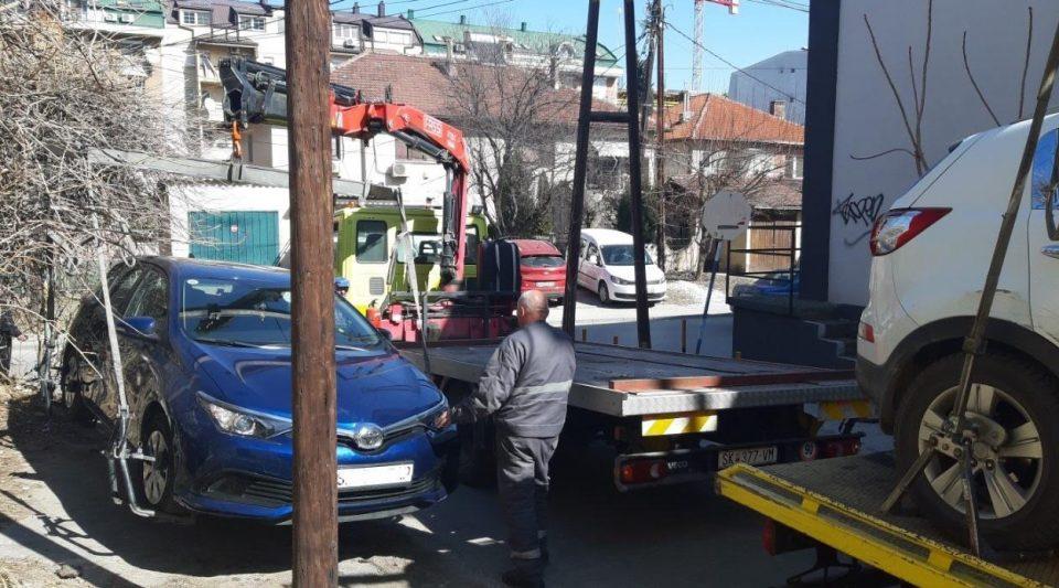 За еден месец во општина Центар отстранети се 799 возила