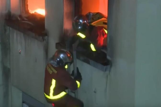 Пожар избувнал во затворот во Идризово