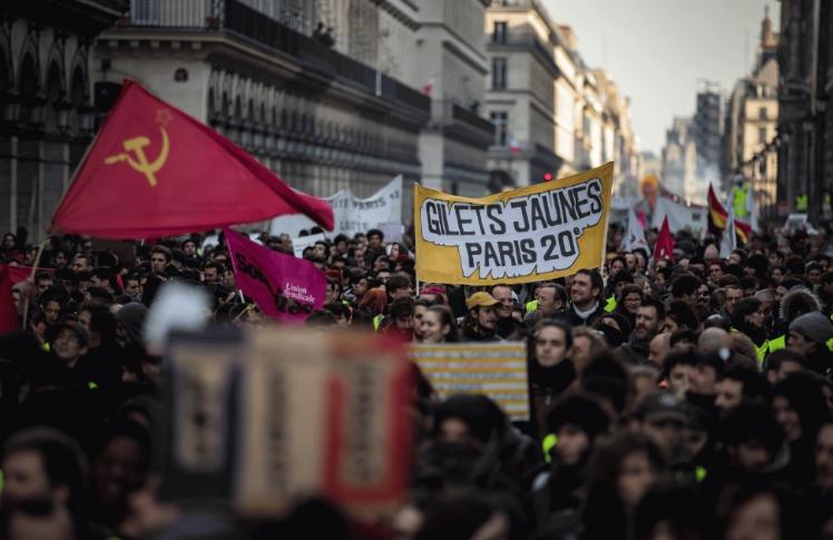 Штрајк на вработените во јавната администрација во Франција
