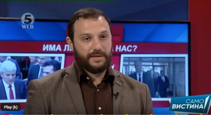 Стоилковски: Богоевски мора да сноси кривична одговорност за трговија на нарко-пазарот