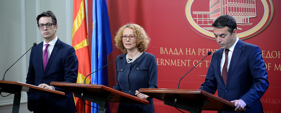 И по десет дена од скандалот за одбивањето на претставник во НАТО, сеуштемолк од Пендаровски и Шекеринска