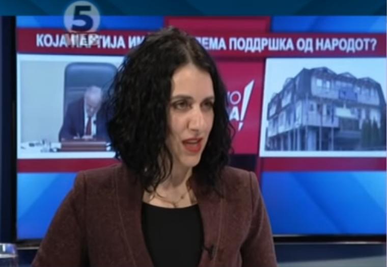 Митовска: Заев ништо не реализира, откако е премиер само лаже