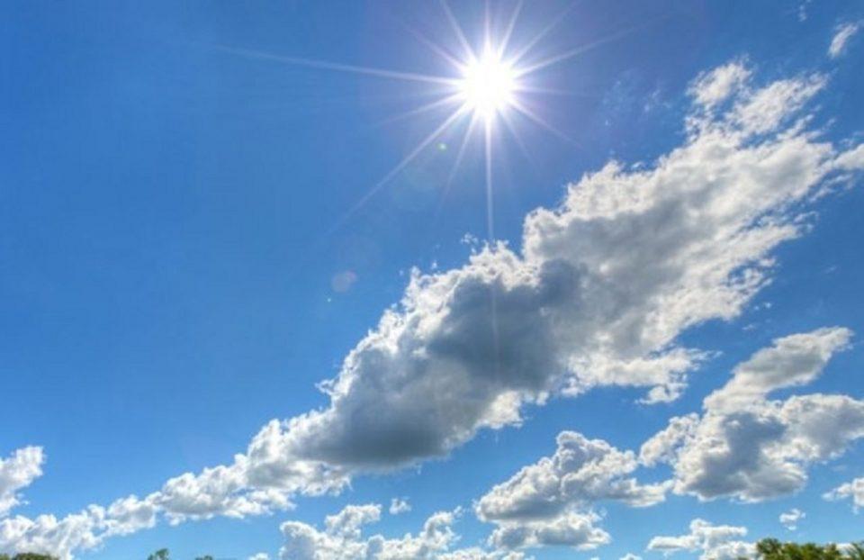 Денес сончево и топло, од среда дожд