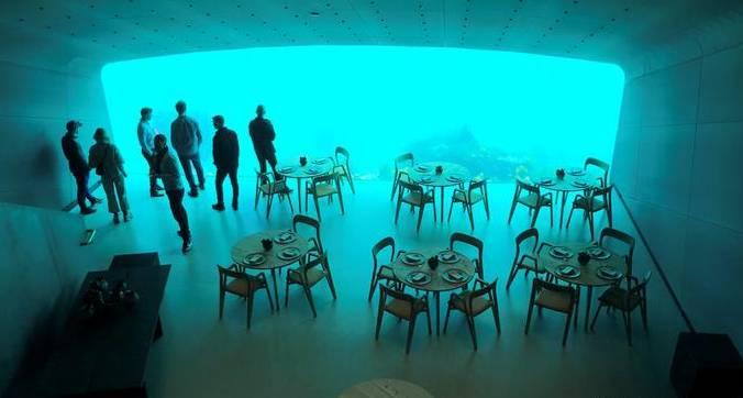 Европа го доби првиот подводен ресторан, за посета се чека до 6 месеци