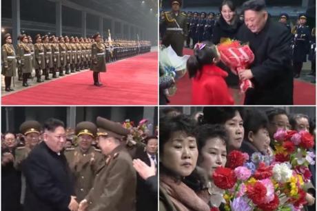 Вака Корејците го дочекаа Ким: Телевизиите емитуваа во живо, а жените плачеа (ВИДЕО)