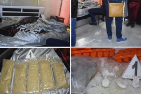 ВИДЕО: На креветот свилена постелнина, а на неа 2,3 килограми хероин- полицијата уапси дилер во стан во Белград