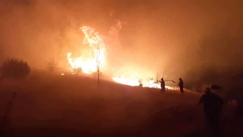 Митко Јанчев: Пожарот е локализиран, нема опасност по градот
