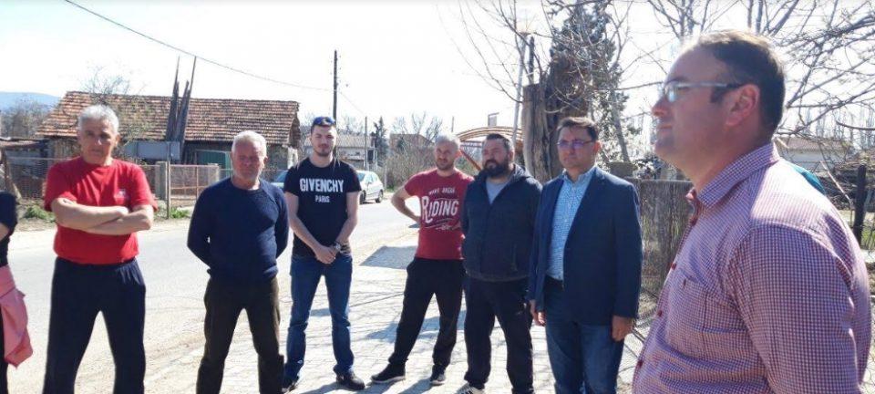 Членови на ИК на ВМРО-ДПМНЕ во работна посета на општина Петровец