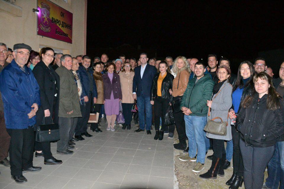 Силјановска: Во Босилово се сретнав со чесни, работливи луѓе што искрено и силно ја сакаат Македонија (ФОТО)