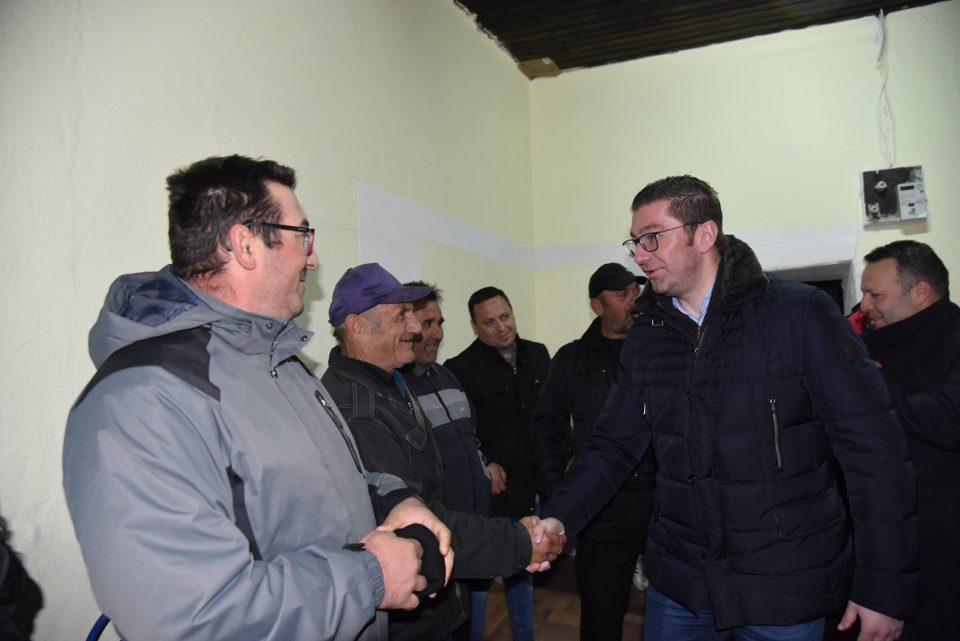 Мицкоски на средба со граѓаните на Кавадарци