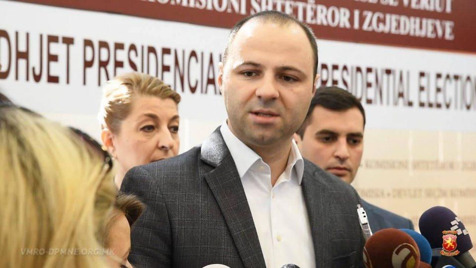 ВМРО-ДПМНЕ ја достави кандидатурата за идниот претседател на Македонија Силјановска: Ги повикуваме сите граѓани заедно да победиме