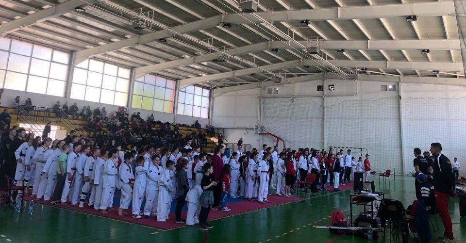 ФОТО: Трет Корио ОПЕН 2019 национален таеквондо турнир со 150 натпреварувачи