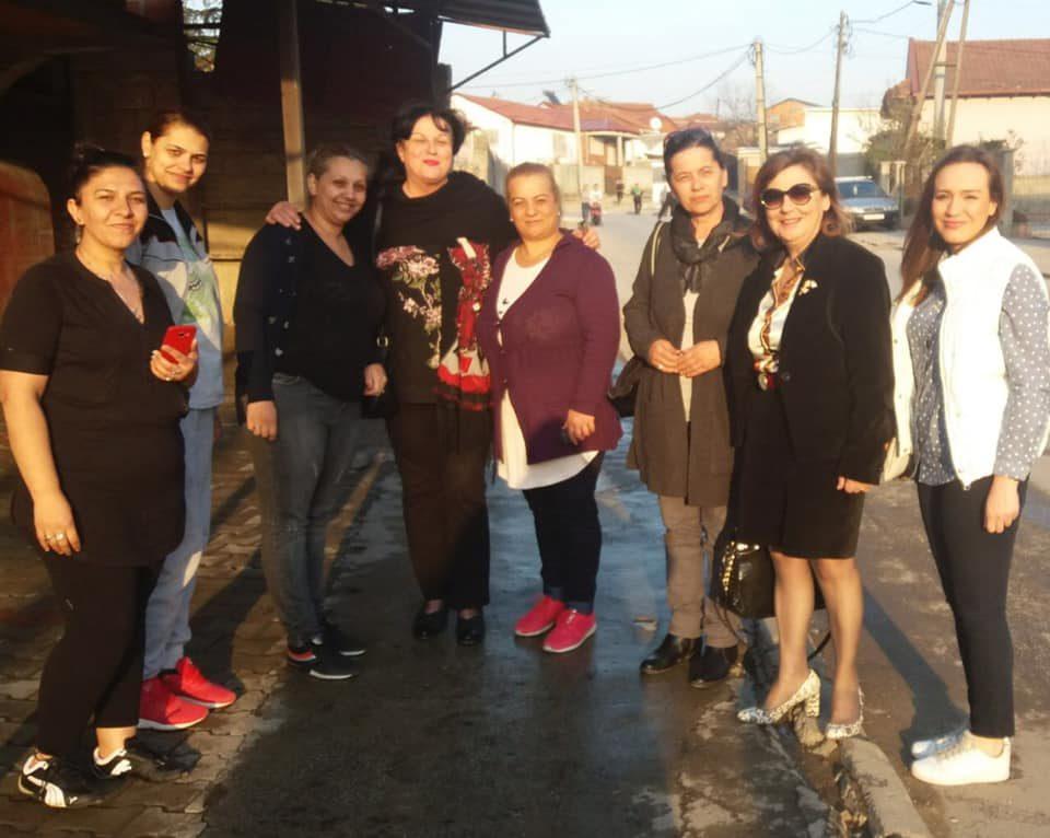Хуманитарна акција на Унија на жени на ВМРО-ДПМНЕ во Шуто Оризари