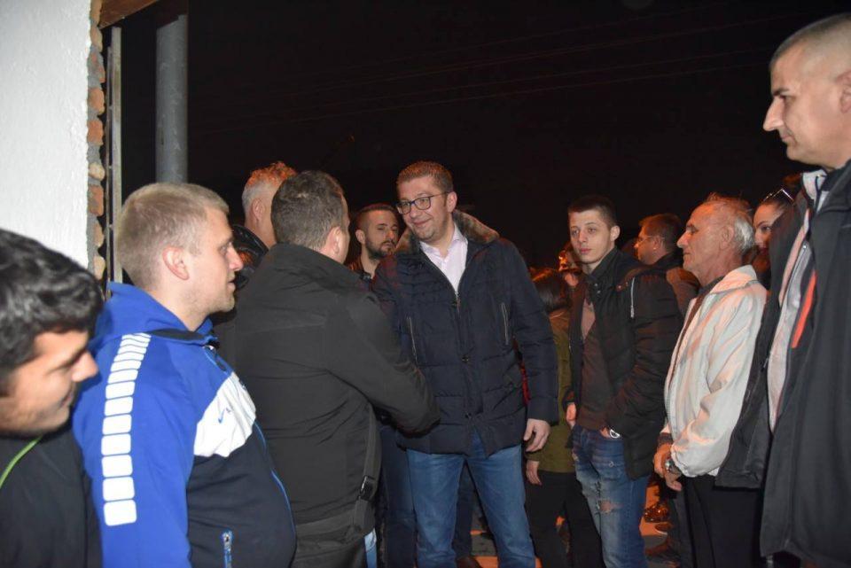 ФОТО: Мицкоски вечерва во посета на патриотско Лисиче
