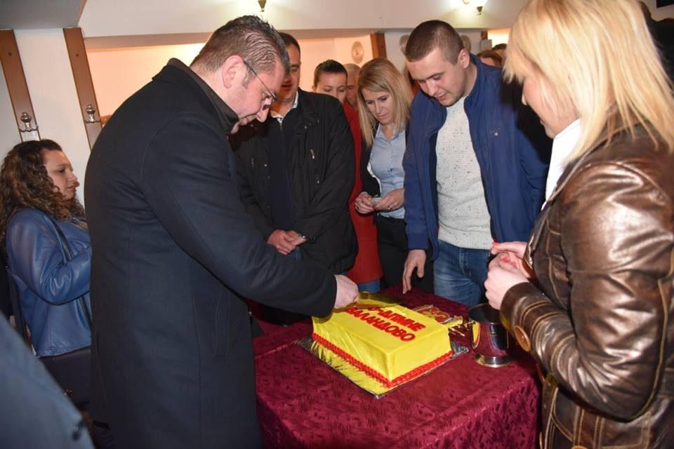 Мицкоски на отворање на нов штаб на ВМРО-ДПМНЕ во Валандово: Нека остане запишано доаѓа времето кога власта ќе треба да се соочи за сите лажни ветувања