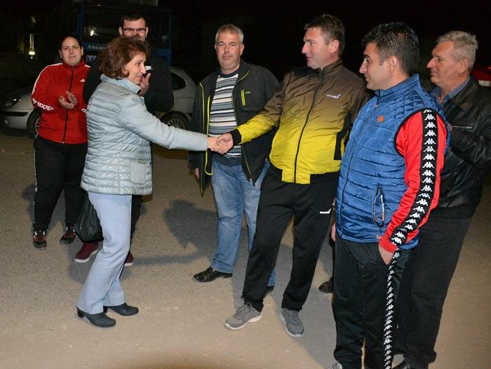 Силјановска: Ветив дека ќе си го вратиме угледот на нашата Македонија