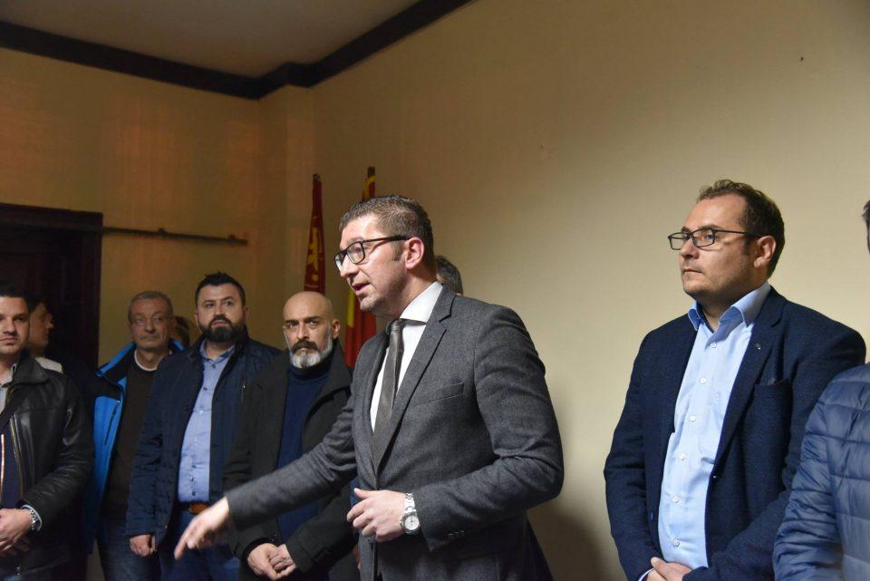 Мицкоски: Спасовски да каже дали Пендаровски е безбеден