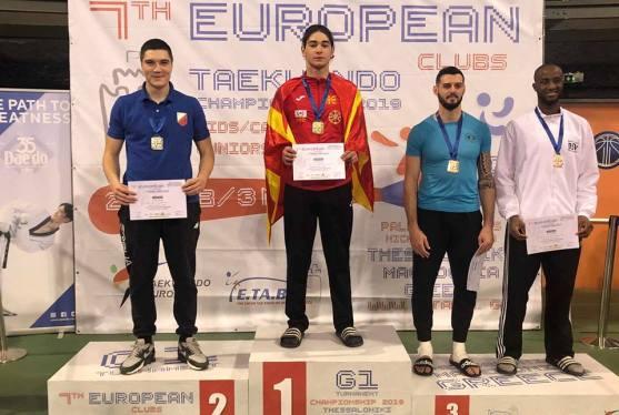Филип Додевски шампион, Дејан Геориевски вицешампион на Европското клупско првенство во Солун