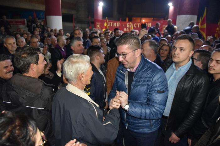 Мицкоски: Додека не ги исправиме политичките нарачки и прогони нема да има ниту правда ниту мир