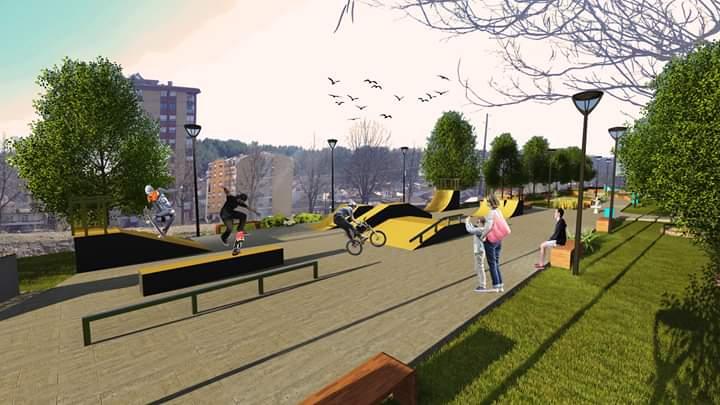 Започна гласањето за идејно решение за уредување на парк во Македонска Каменица