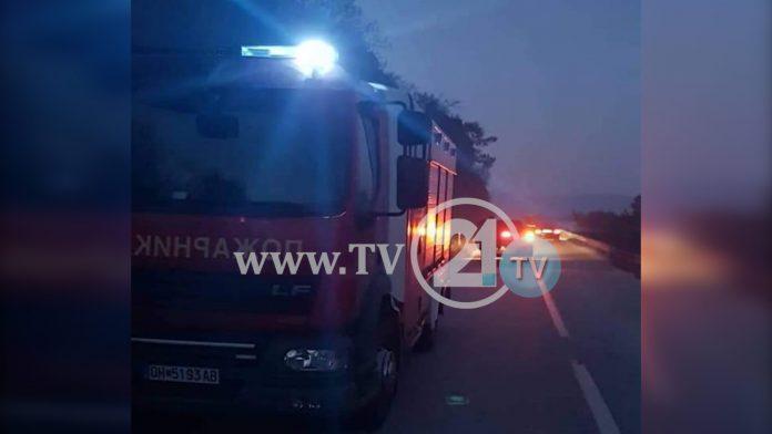 ВИДЕО: Нов пожар во Преспа