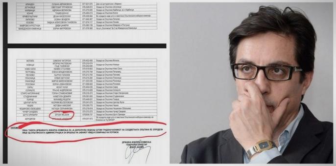 ДОКУМЕНТИ: Потписите на Пендаровски не се легално собрани- ги собирале лица кои не се овластени за тоа