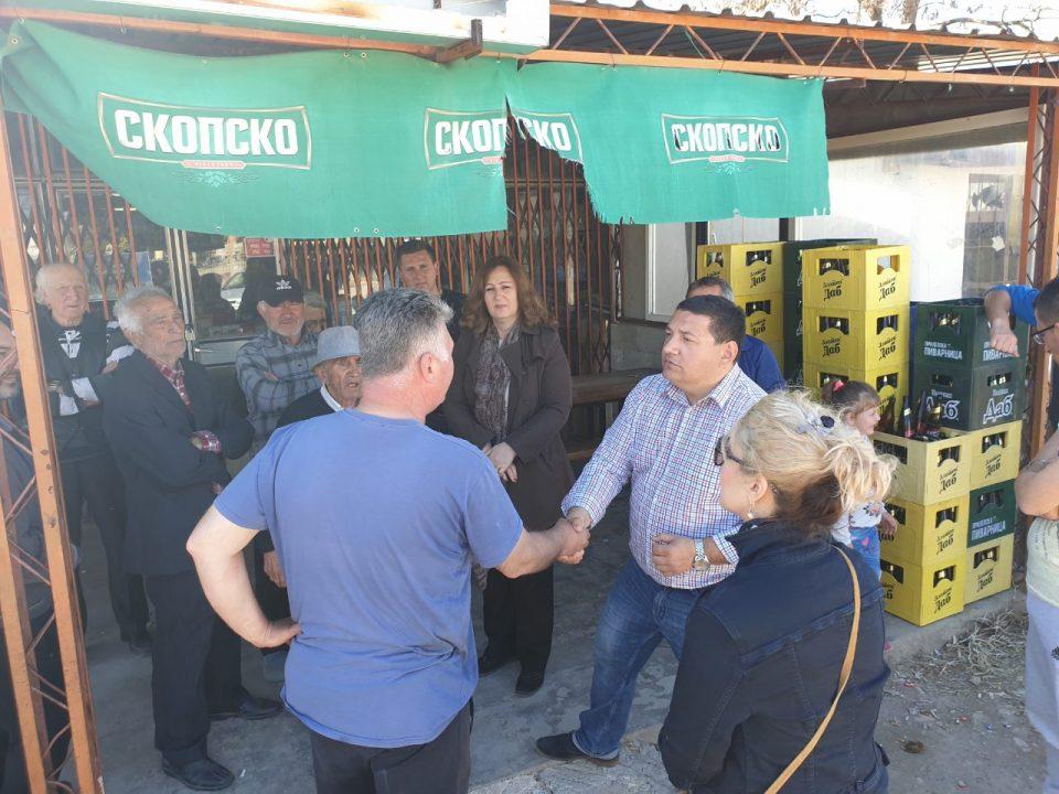 Членовите на ИК на ВМРО-ДПМНЕ Требишки и Ангелевска во посета на Чучер Сандево и Прилеп