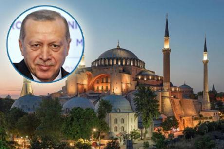 Ердоган: Аја Софија ќе ја викаме џамија