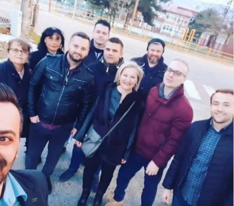 ФОТО: Милошоски на средба со граѓаните во Ѓорче Петров