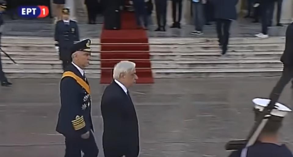 ВИДЕО: Обид за атентат врз грчкиот претседател