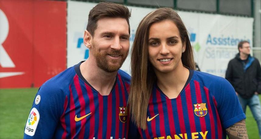 """ФОТО: Најдоброто од Македонија, со најдобриот во Барселона: """"Привилегија е да го гледаш!"""""""