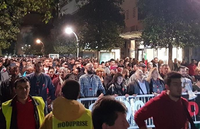 Нов протест во Црна Гора со барање за оставка на Владата и Претседателот