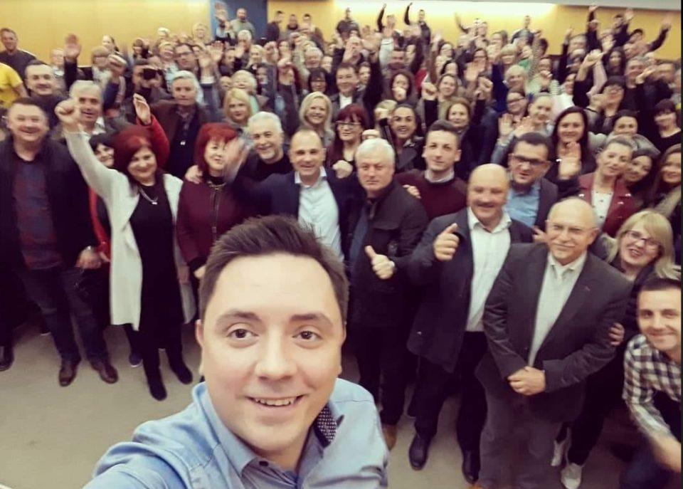 Министерот Филипче во изборен молк тера кампања за Стево Пендаровски