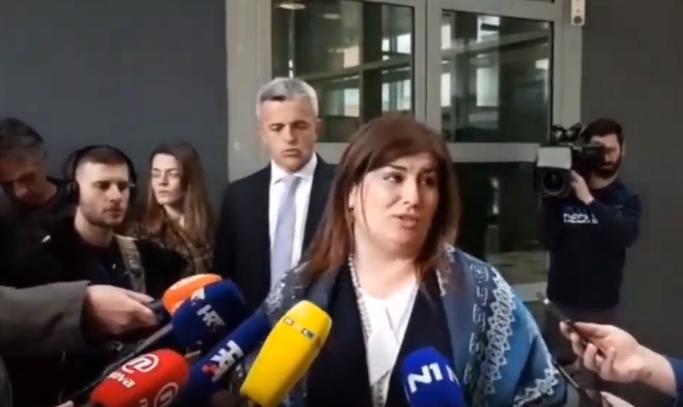 Хрватската министерка која удри дете со автомобил, со солзи си поднесе оставка (ВИДЕО)