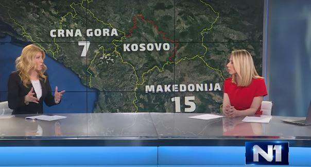 Н1: Србија е лидер по мафијашки убиства во регионот, Македонија е втора