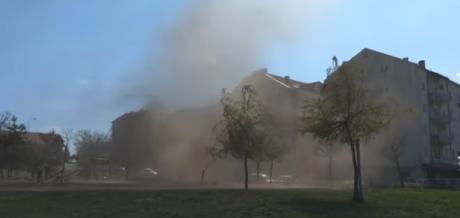 ВИДЕО: Торнадо во Ниш