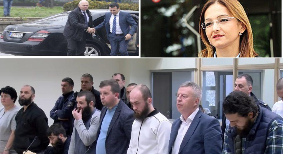 """Шест години затвор за терористи од ИСИС, а четири години за набавка на """"Мерцедесот"""" во кој се вози Заев"""