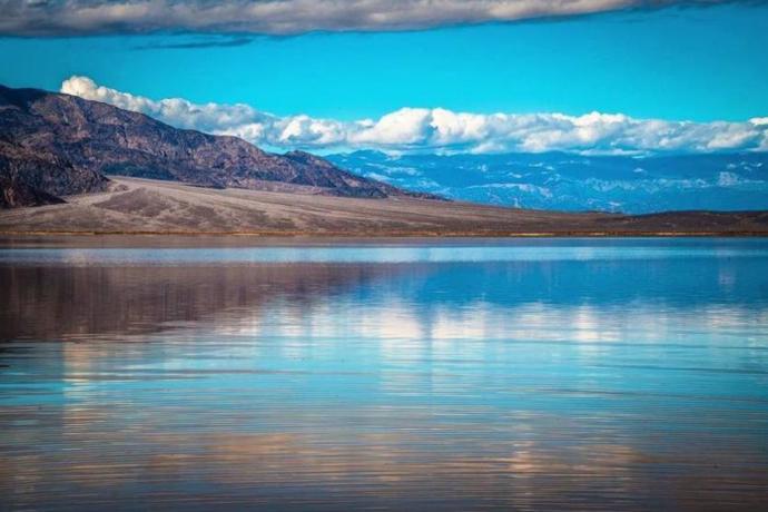 Мистериозно езеро се појави во Долината на смртта