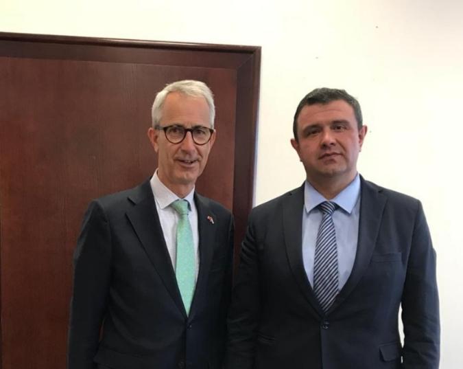 Мицевски оствари средба со холандскиот амбасадор Вилем Ваутер Пломп